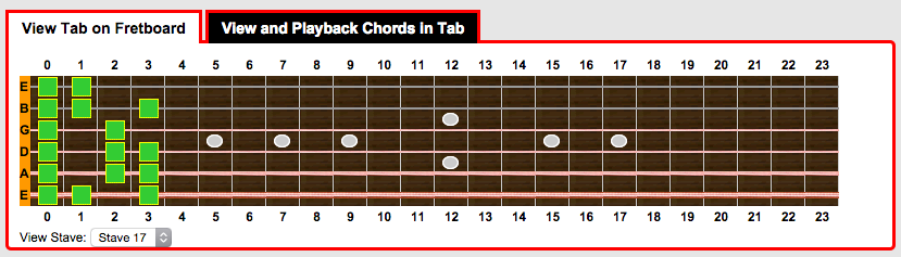 We have added MIDI Sound to Guitar Tab Creator : guitar tab creator